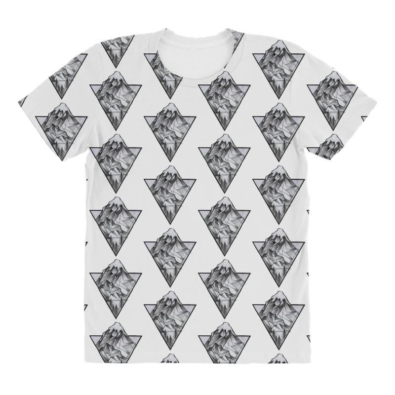 Triangle Mountain All Over Women's T-shirt | Artistshot