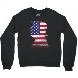 trump and american boarder Crewneck Sweatshirt | Artistshot