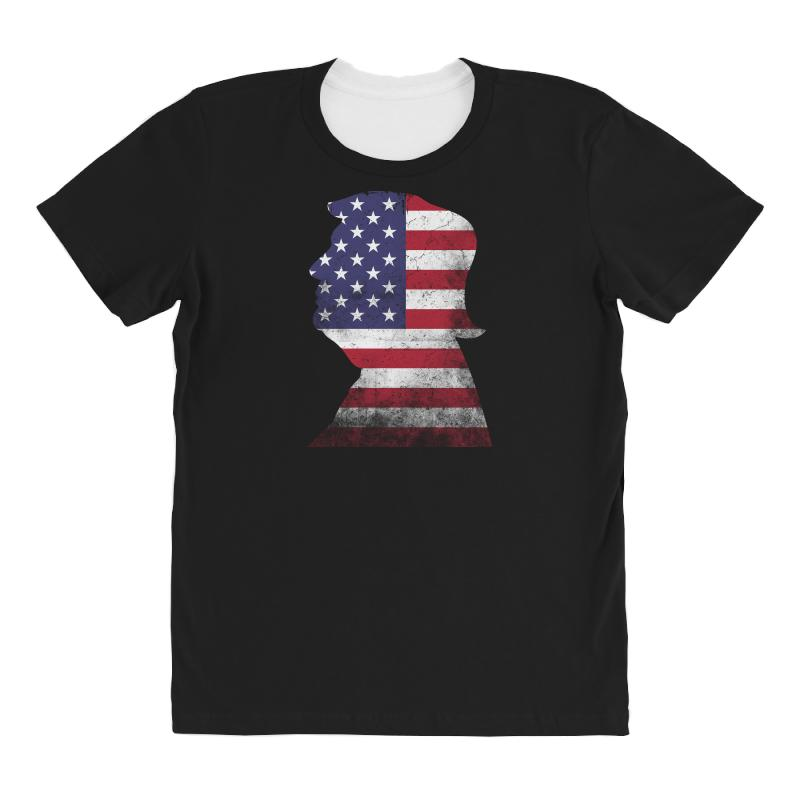 Trump And American Boarder All Over Women's T-shirt | Artistshot