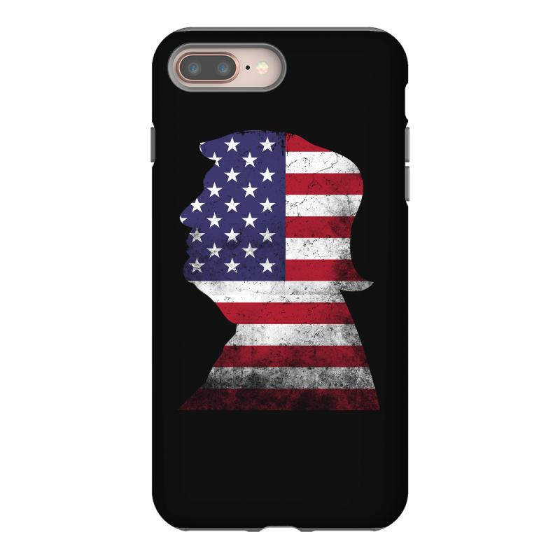 Trump And American Boarder Iphone 8 Plus Case | Artistshot