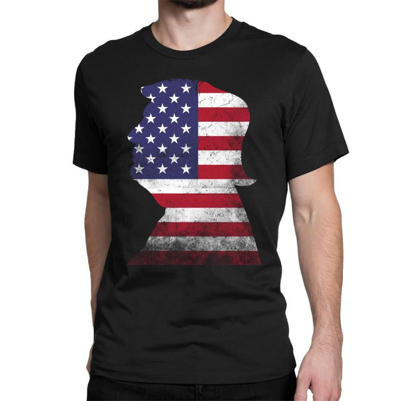 Trump And American Boarder Classic T-shirt | Artistshot