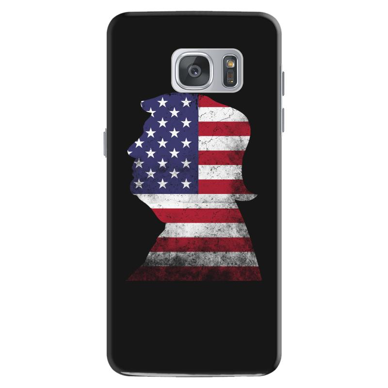 Trump And American Boarder Samsung Galaxy S7 Case | Artistshot