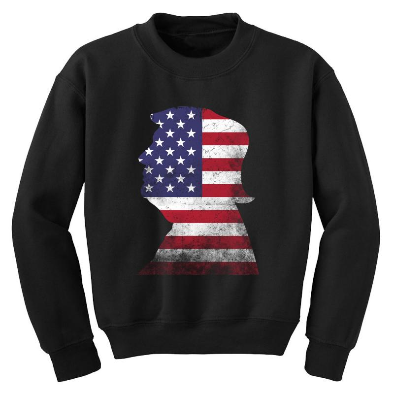 Trump And American Boarder Youth Sweatshirt | Artistshot