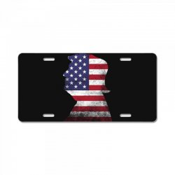 trump and american boarder License Plate | Artistshot