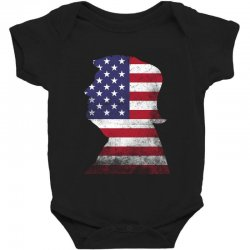 trump and american boarder Baby Bodysuit | Artistshot