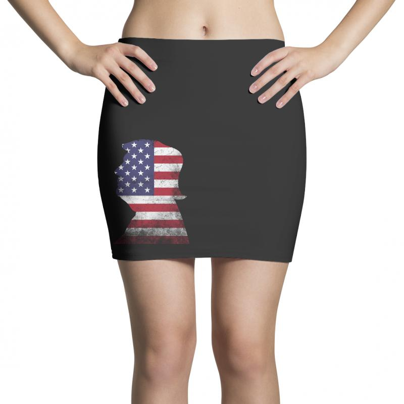 Trump And American Boarder Mini Skirts | Artistshot