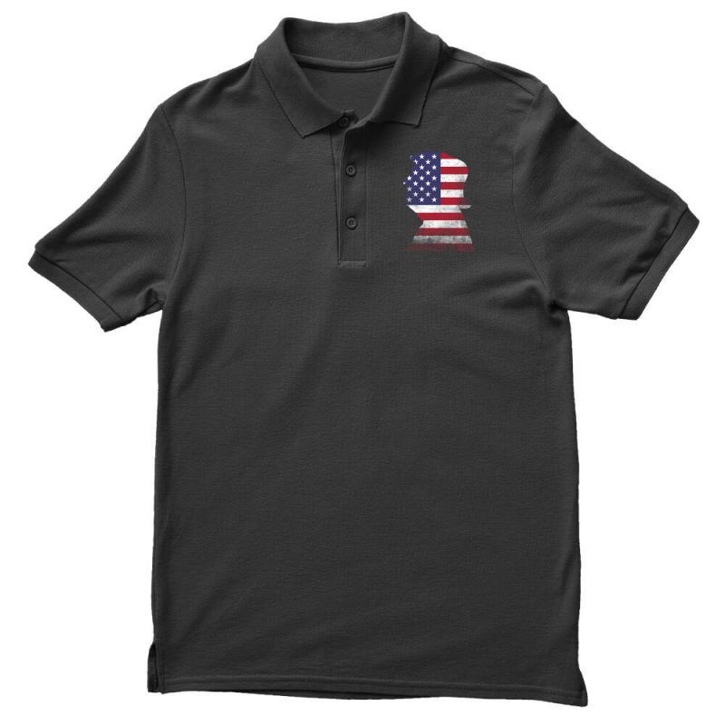 Trump And American Boarder Men's Polo Shirt | Artistshot