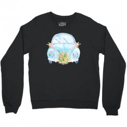 wedding car Crewneck Sweatshirt | Artistshot