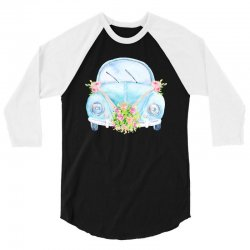 wedding car 3/4 Sleeve Shirt | Artistshot