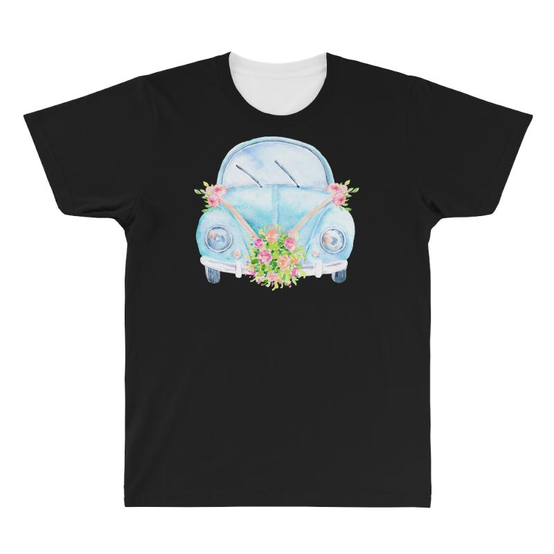 Wedding Car All Over Men's T-shirt | Artistshot