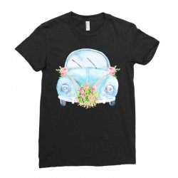 wedding car Ladies Fitted T-Shirt | Artistshot