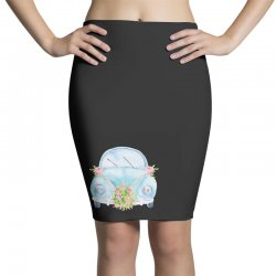 wedding car Pencil Skirts | Artistshot