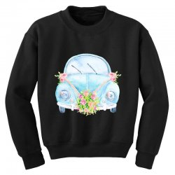 wedding car Youth Sweatshirt | Artistshot