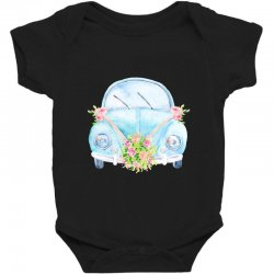 wedding car Baby Bodysuit | Artistshot