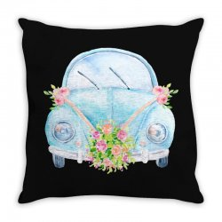 wedding car Throw Pillow | Artistshot