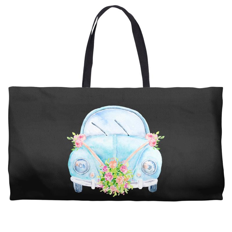 Wedding Car Weekender Totes | Artistshot