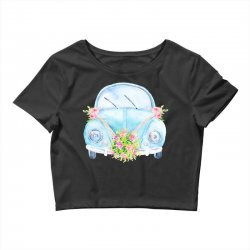 wedding car Crop Top | Artistshot
