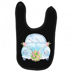 wedding car Baby Bibs | Artistshot