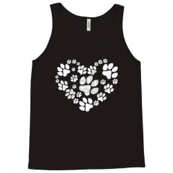 paws heart Tank Top | Artistshot