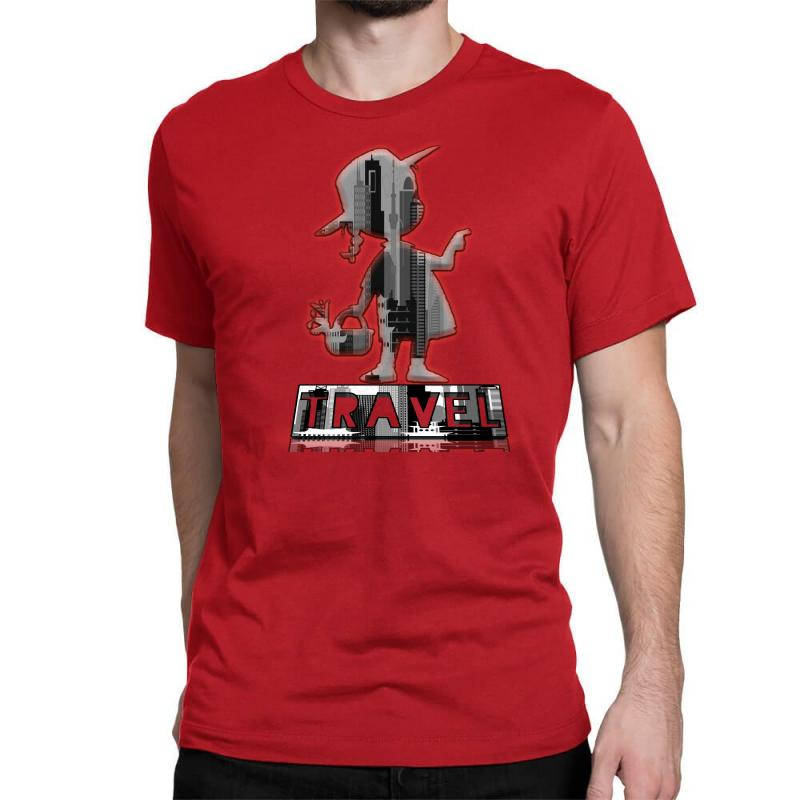 Travel City Classic T-shirt | Artistshot