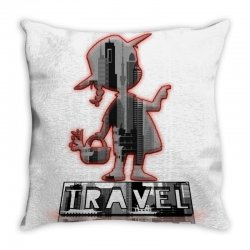 travel city Throw Pillow | Artistshot