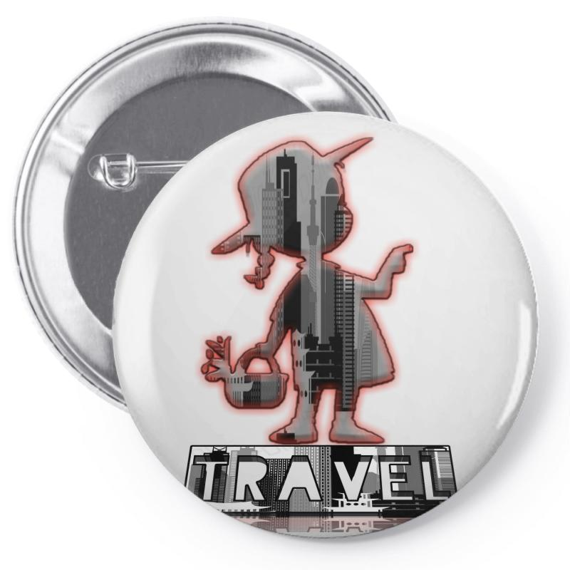 Travel City Pin-back Button | Artistshot