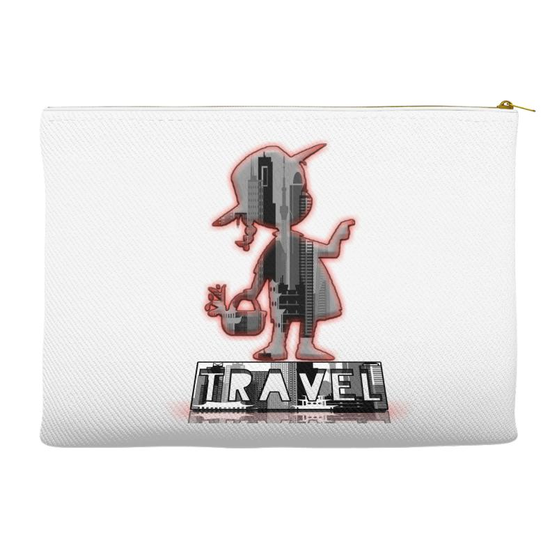 Travel City Accessory Pouches | Artistshot