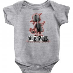 travel city Baby Bodysuit | Artistshot