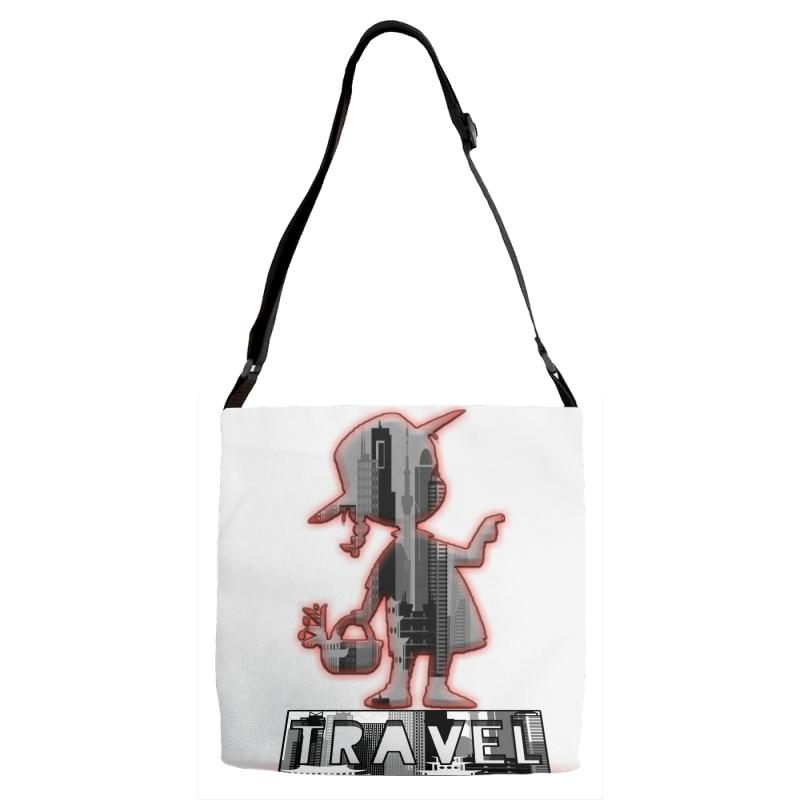 Travel City Adjustable Strap Totes | Artistshot