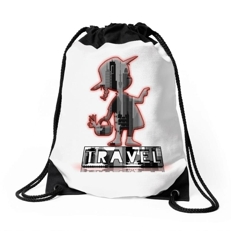 Travel City Drawstring Bags | Artistshot