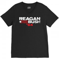 reagan bush V-Neck Tee | Artistshot
