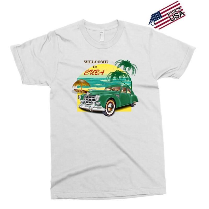 Welcome To Cuba Exclusive T-shirt   Artistshot