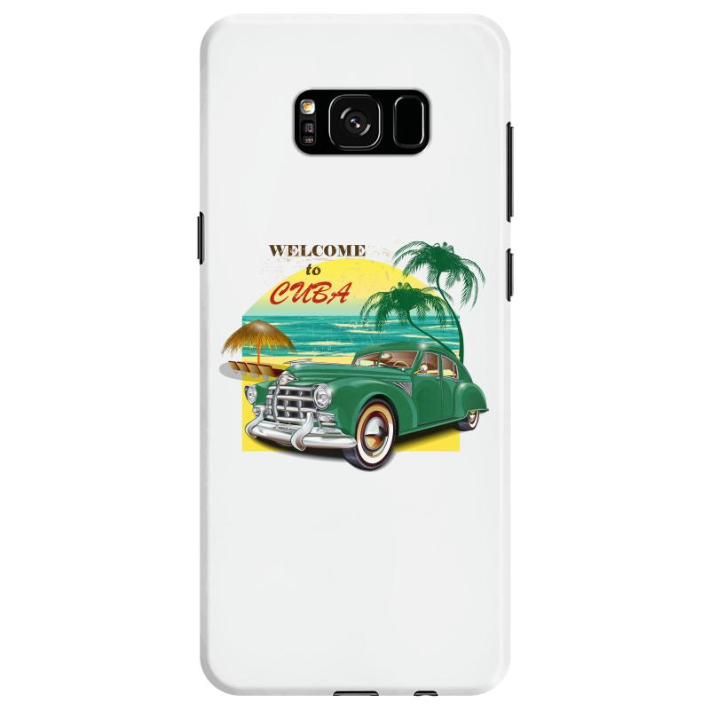 Welcome To Cuba Samsung Galaxy S8 Case | Artistshot