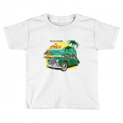 welcome to cuba Toddler T-shirt | Artistshot