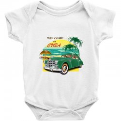 welcome to cuba Baby Bodysuit | Artistshot