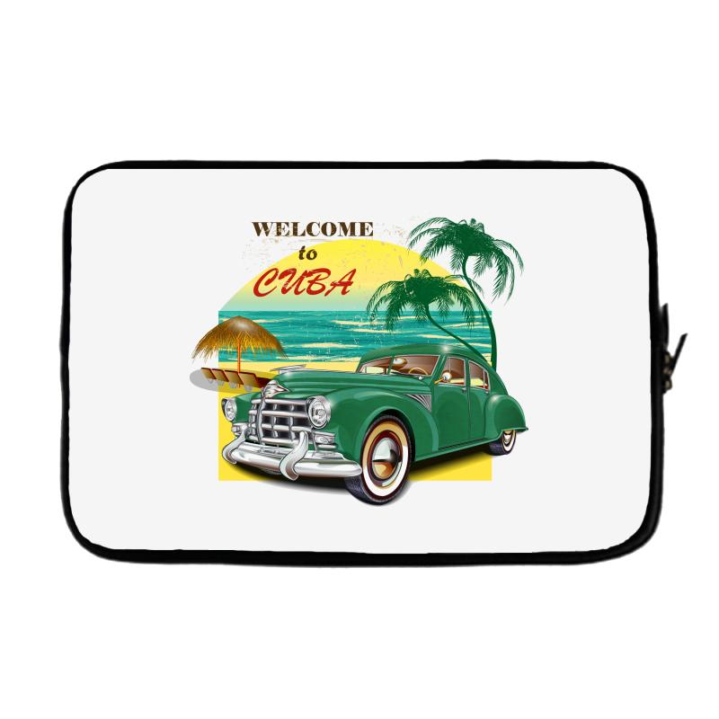 Welcome To Cuba Laptop Sleeve | Artistshot