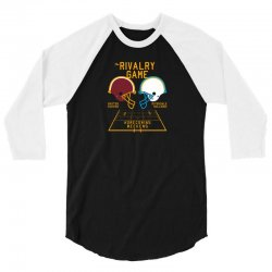 the rivalry game new 3/4 Sleeve Shirt | Artistshot