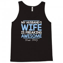 wife awesome Tank Top | Artistshot