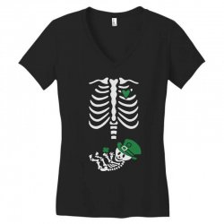baby skeleton Women's V-Neck T-Shirt | Artistshot