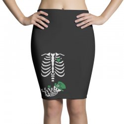 baby skeleton Pencil Skirts | Artistshot