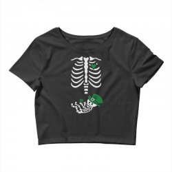 baby skeleton Crop Top | Artistshot
