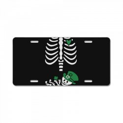 baby skeleton License Plate | Artistshot