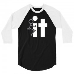 fck it 3/4 Sleeve Shirt | Artistshot