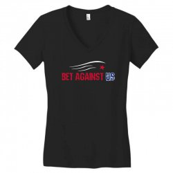 bet against us Women's V-Neck T-Shirt | Artistshot