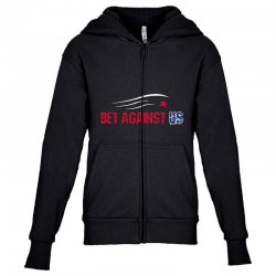 bet against us Youth Zipper Hoodie | Artistshot