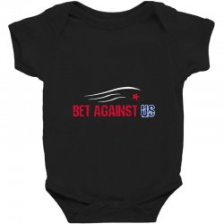 bet against us Baby Bodysuit | Artistshot