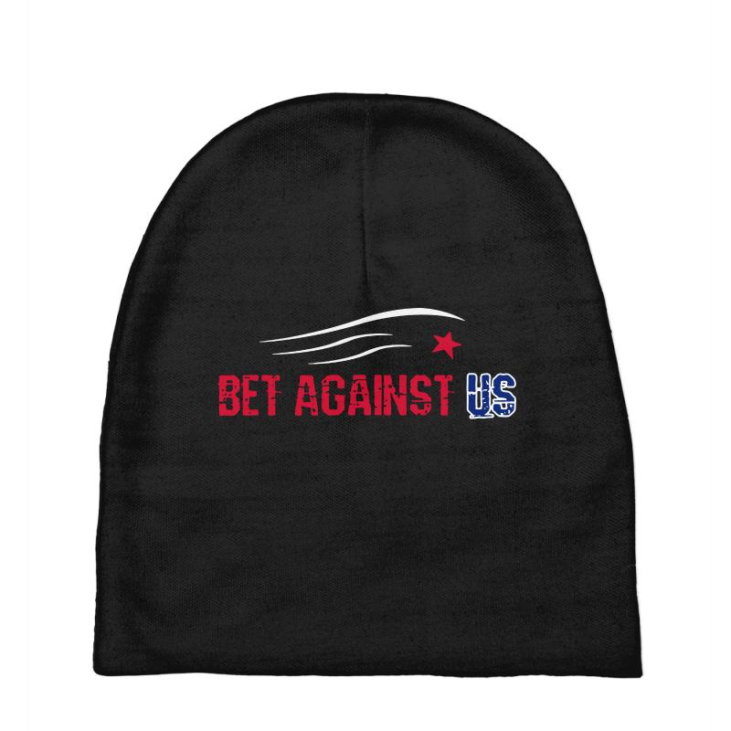 Bet Against Us Baby Beanies | Artistshot