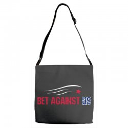 bet against us Adjustable Strap Totes | Artistshot