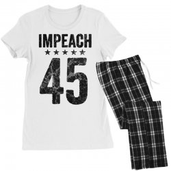 impeach 45   anti trump Women's Pajamas Set | Artistshot