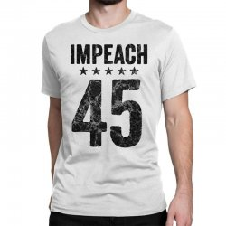 impeach 45   anti trump Classic T-shirt | Artistshot